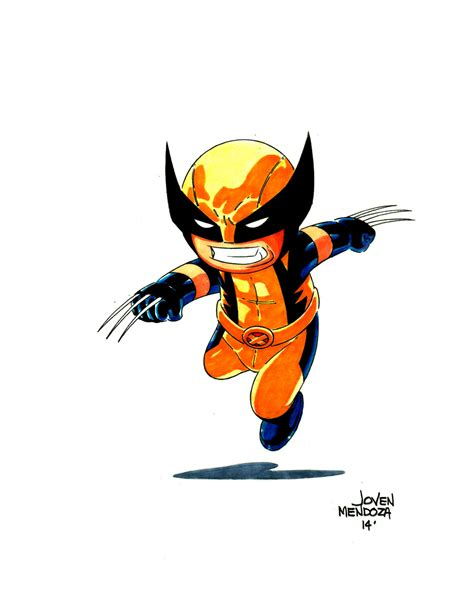 Chibi Wolverine By Wardogs101 On Deviantart