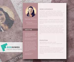 modern and chic a photo resume template giveaway freesumes With chic resume templates