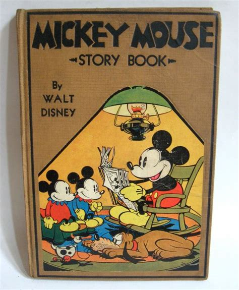 Kitchen Magic With Mickey Book by Mickey Mouse Story Book 1931 Walt Disney Hardcover
