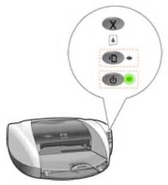 Hp Resume Button by Blinking Lights On The Hp Deskjet 5550 Printer Series Hp 174 Customer Support