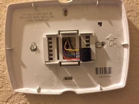 upgrade honeywell thc  wifi thermostat