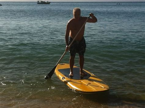 stand up paddle sobre pranchas e remos