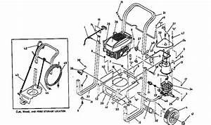 Craftsman Model 580741380 Power Washer  Gas Genuine Parts
