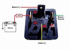 New Cara Pemasangan Relay Klakson Motor