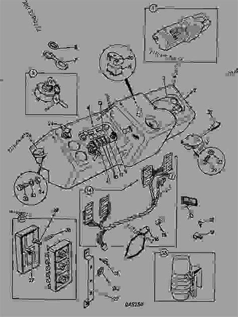 instrument panel transmission manual agricultural jcb