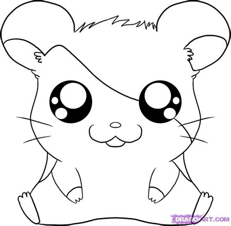 draw hamtaro step  step cartoon network