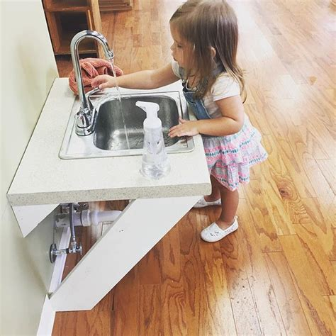 toddler kitchen sink with running water how great would it be to install a sink with running water