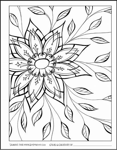Zenspirations Gratitude Coloring Pages Inspired Adult Delicate