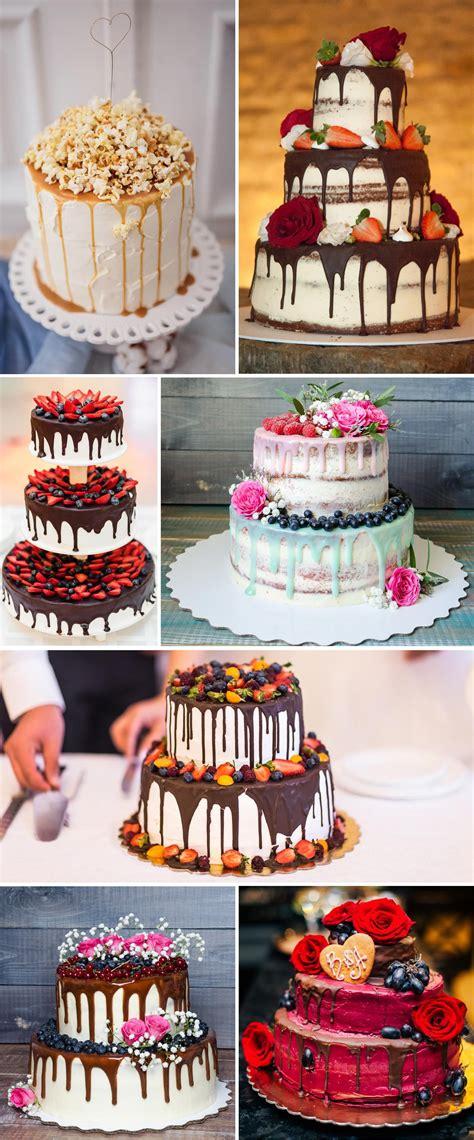drip cake zur hochzeit tropfkuchen dessert hochzeit und