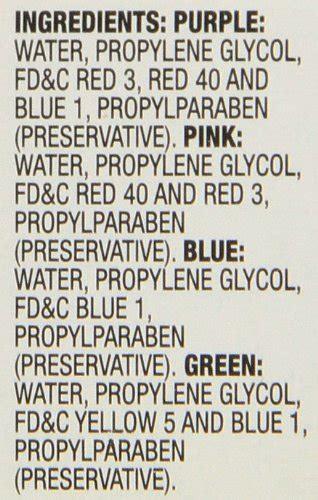 Food Coloring Ingredients by Mccormick Neon Assorted Food Color 1 Fl Oz Food