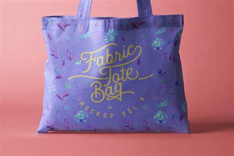 psd tote bag fabric mockup vol psd mock  templates