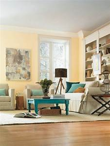 deco salon couleur de peinture pour salon taupe meubles With couleur parquet tendance