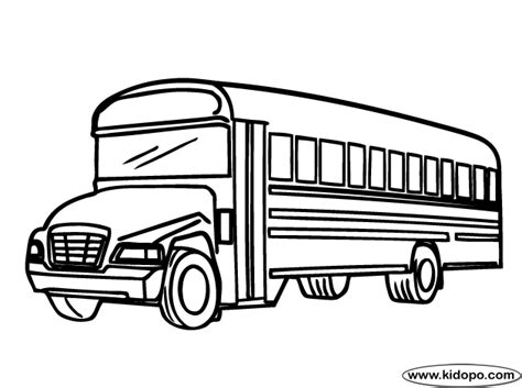 city bus  kids coloring pages coloring pages