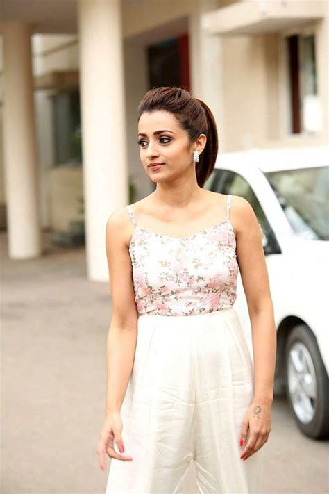 Exclusive Beautiful Trisha Krishnan Photos Plumeria