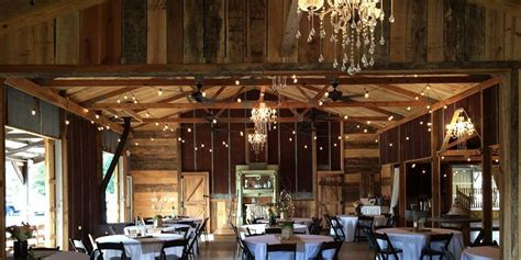 barns  west tennessee weddings  prices