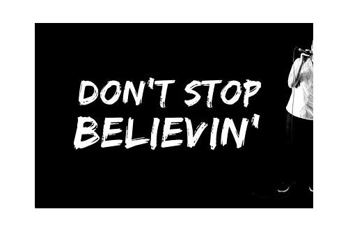 journey don't stop believin mp3 free download