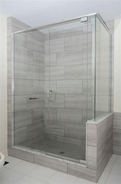 12x24 Tile Bathroom by Eramosa 12x24 Porcelain Tile Showers In 2019