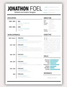 creative business resume format 35 free creative resume cv templates xdesigns