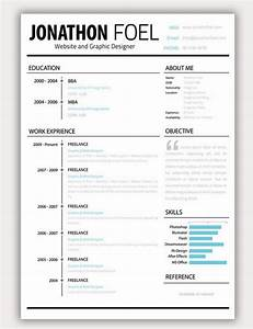 download 35 free creative resume cv templates xdesigns With creative resume format