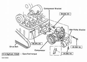 1992 Toyota Tercel Serpentine Belt Routing And Timing Belt