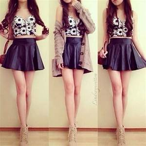 Cute Tumblr Outfits Crop Top