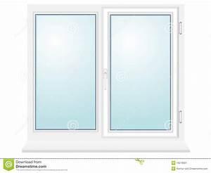 Closed Kitchen Closed Plastic Glass Window Illustration