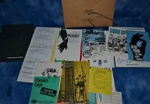 Vintage Construction Safety Manuals Brochures Signage