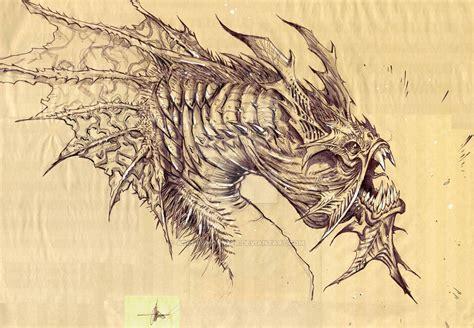 sea monster   archermonster  deviantart