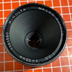 Vintage Minolta Mc Macro Rokkor 3 5 Lens Manual