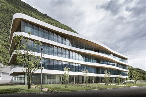schaer headquarter monovolume architecture design