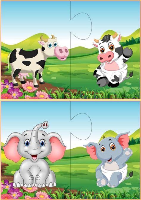 Puzzles infantiles para niños de 2 a 3 años V Puzzles