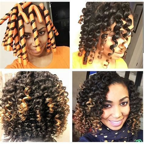 Video Flexi Rod Tutorial on Transitioning or Relaxed Hair