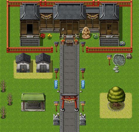 Rpg Maker Mv Twilight Shrine Japanese Resource Pack