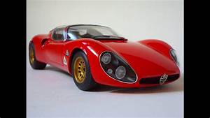 Alpha Romeo 33 : alfa romeo 33 stradale prototype autoart model youtube ~ Maxctalentgroup.com Avis de Voitures