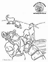 Billy Goats Gruff Coloring Three Pages Activities Goat Troll Fairy Sheets Sheet Tale Tales Fairytale Template Colouring Printable Kindergarten Worksheets sketch template