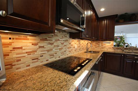 ceramic tile designs for kitchen backsplashes ceramic tile backsplash contemporary kitchen york by specialized home improvements ltd