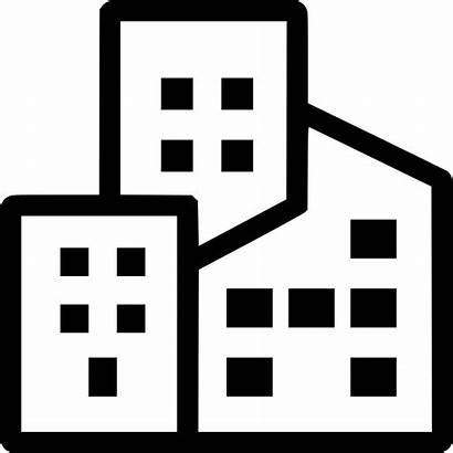 Commercial Property Insurance Icon Business Office Svg