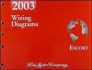 2003 Ford Escort Zx 2 Wiring Diagram Manual Original