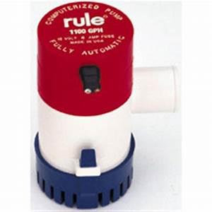 Rule 1100 Gph Automatic Pump - 1 1  8 U0026quot  Hose