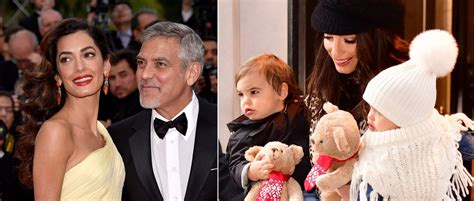 George was excited to welcome his little kids home. Download George Clooney 2020 Age Pictures | Narizu