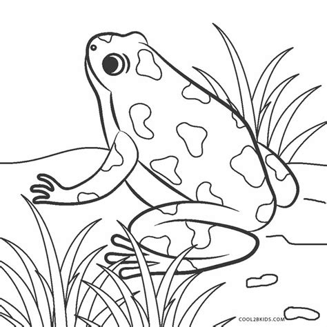 Coloring Pictures by Free Printable Frog Coloring Pages For Cool2bkids