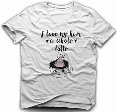 Hair Shirts Natural Latte Shirt Whole Curly