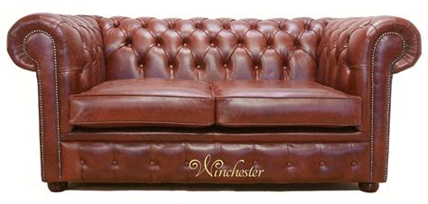 chesterfield settees second chestnut leather sofa new cina 3 seater italian real