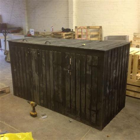 diy pallet large storage bin wooden pallet furniture