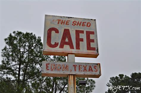 the shed cafe edom tx menu edom my east