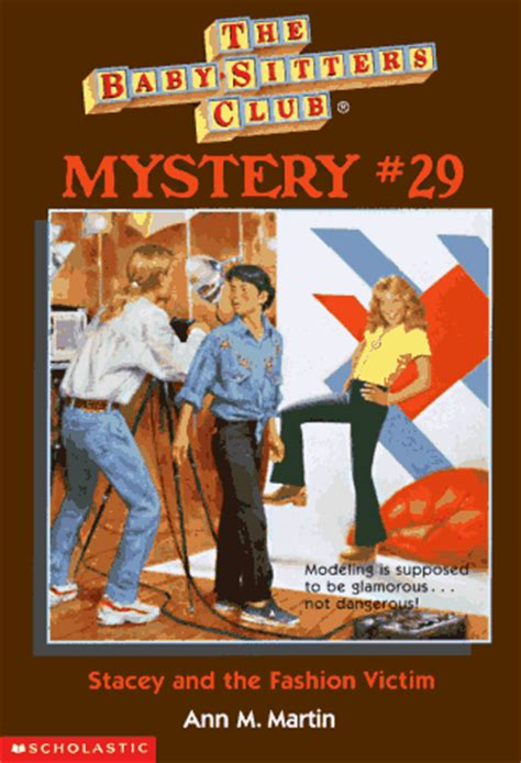 stacey   fashion victim baby sitters club mystery