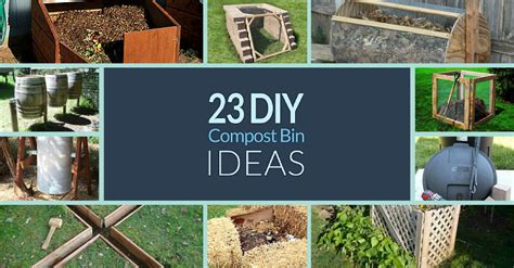 Homemade Backyard Compost Bin  2017  2018 Best Cars Reviews
