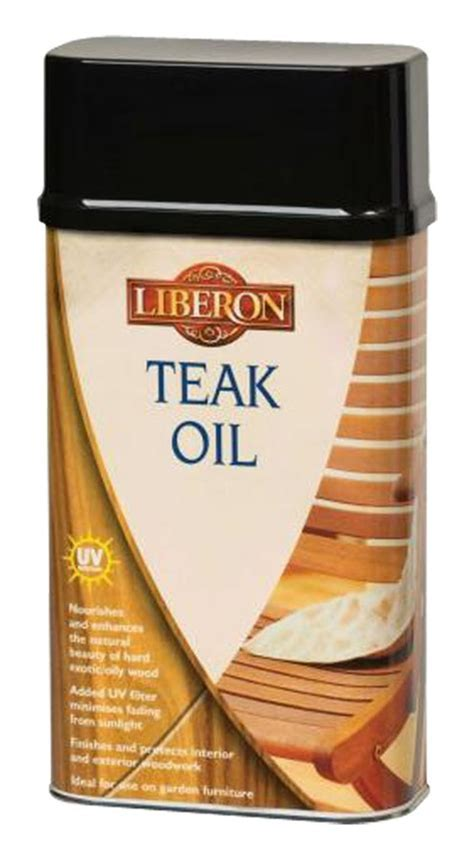 Liberon Teak Oil with UV Filter : £4.21