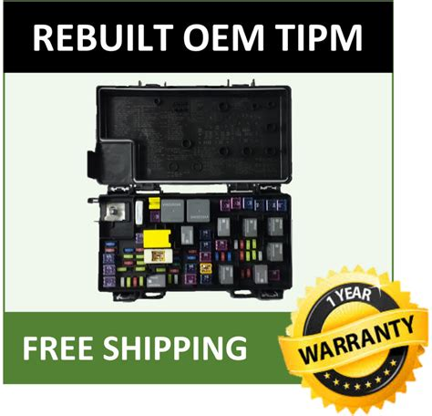 Ram 1500 Fuse Box by 2011 Dodge Ram 1500 Tipm Fuse Box Fuse Relay