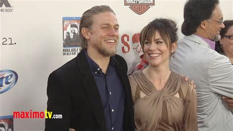 Sons of Anarchy Season 5 Premiere Charlie Hunnam, Maggie